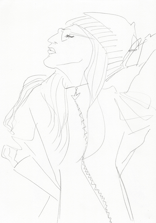 Fashion Illustration Esquisse01