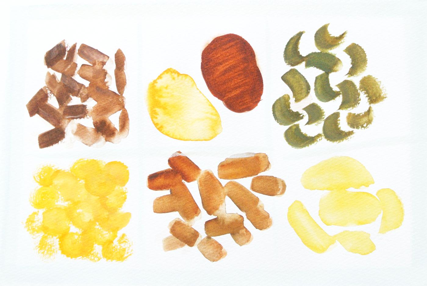 かわむらの甘納豆のイラスト