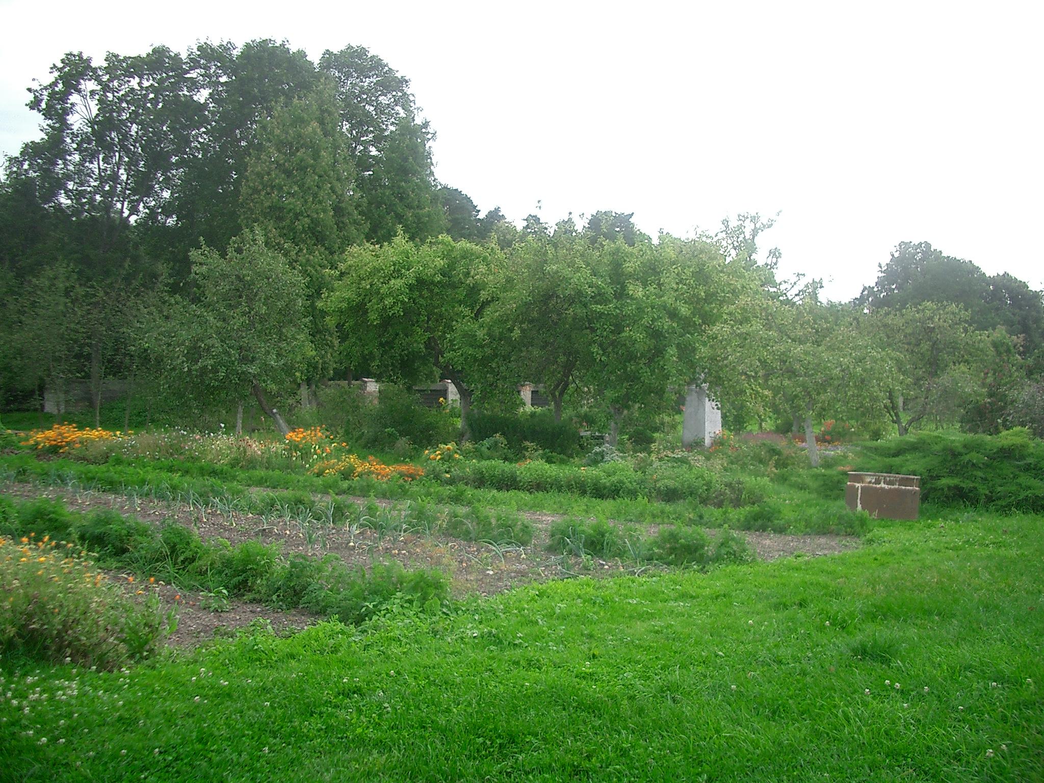 パジャイスリス修道院の畑