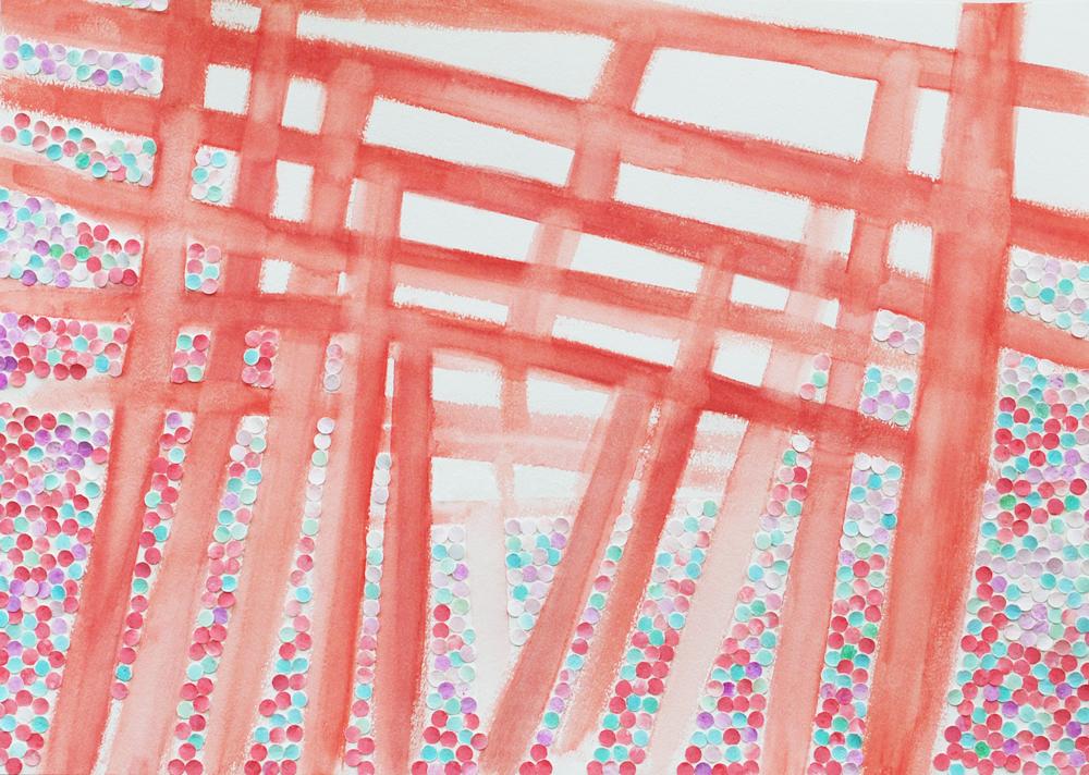 根津神社のイラスト