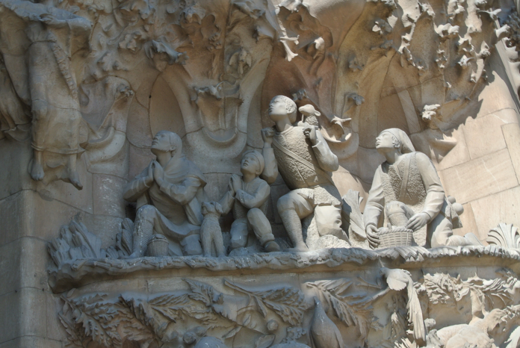 サグラダ・ファミリア羊飼いの礼拝の写真