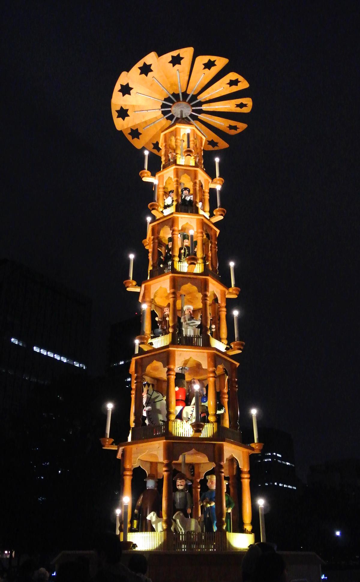 日比谷公園 東京クリスマスマーケット