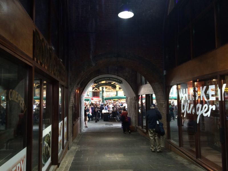 ロンドンのバラ マーケット(Borough Market)
