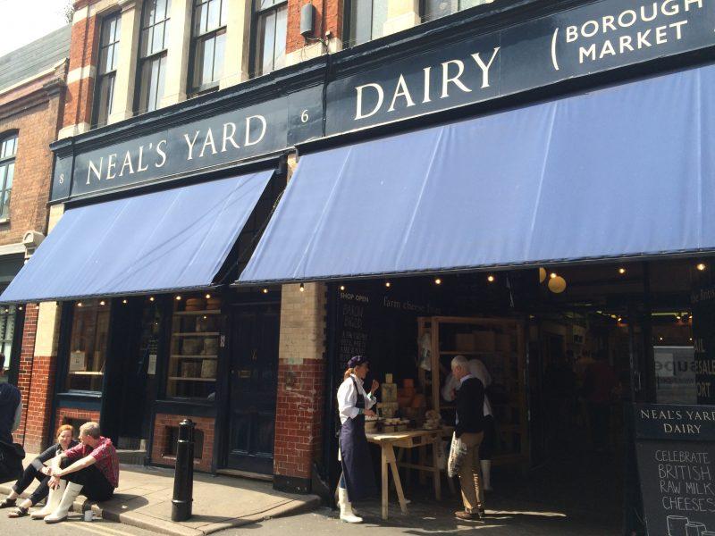 バラ マーケット(Borough Market)のNEAL'S YARD DAIRY
