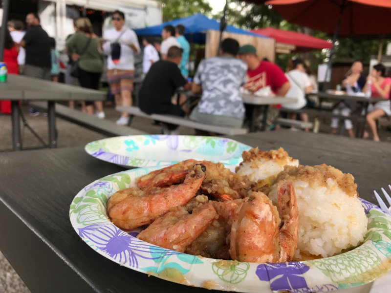 ガーリックシュリンプShrimp Scampi(Garlic Shrimp)