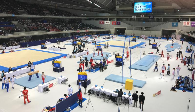体操天皇杯-第71回-全日本体操個人総合選手権