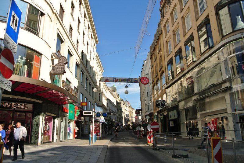 マリアヒルファー通り(Mariahilfer Straße)