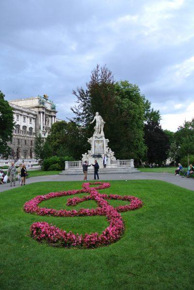 モーツァルト像