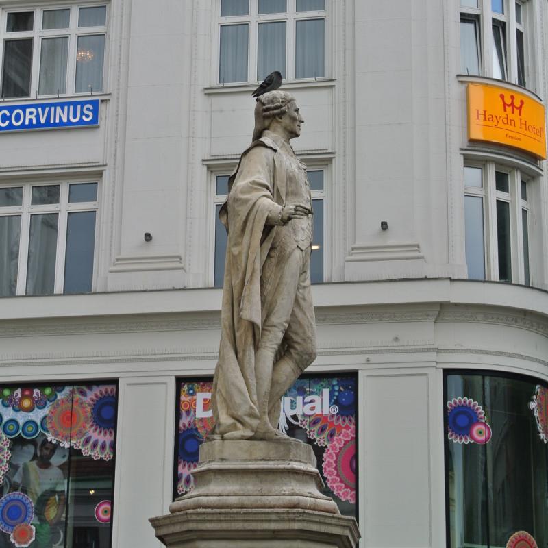 ハイドンの像