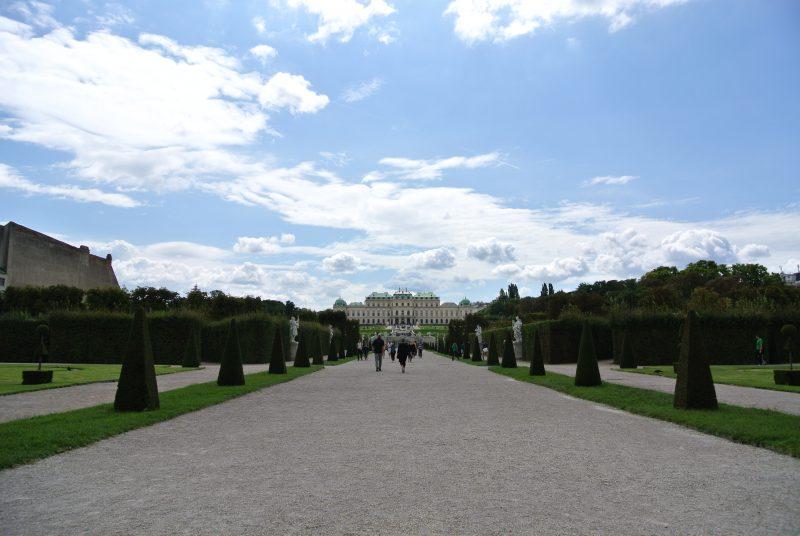 ベルヴェデーレ宮殿(Schloss Belvedere)