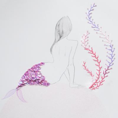 人魚のイラスト