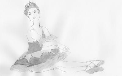 バレリーナデッサン会(Ballerina Drawing)