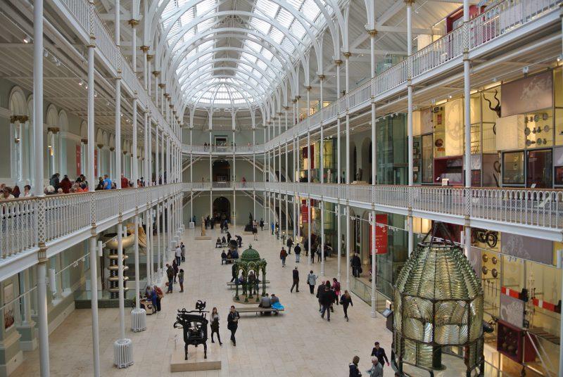 スコットランド博物館(Museum of Scotland)