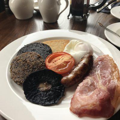 朝食のハギス